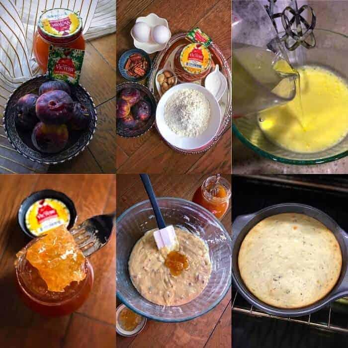 Fig Honey Cake Ingredients