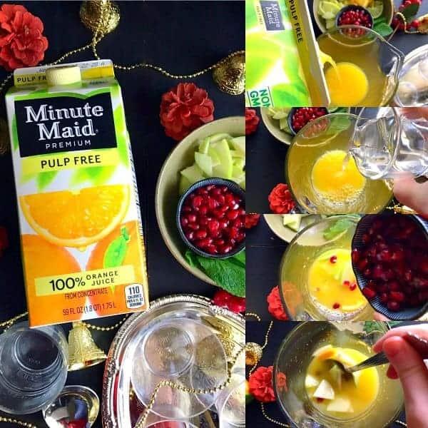 Quick Festive Orange Drink (Family Drink)