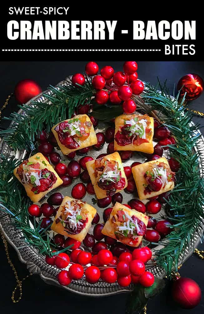 Cranberry - Bacon Bites (Sweet - Spicy)