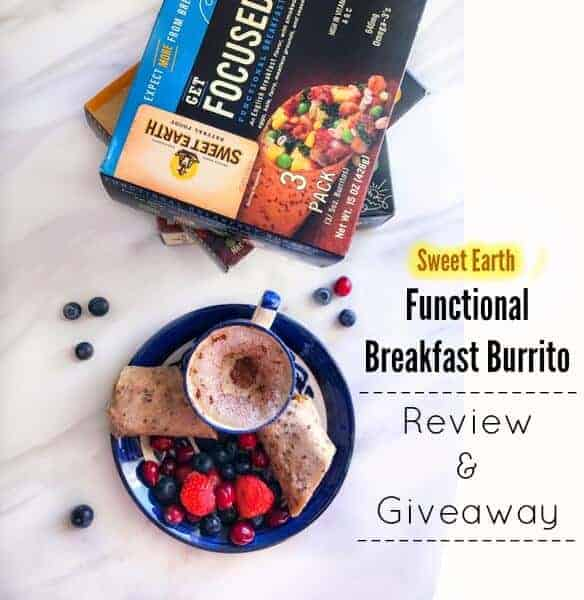 Sweet Earth - Functional Breakfast Burrito (Review & Giveaway)