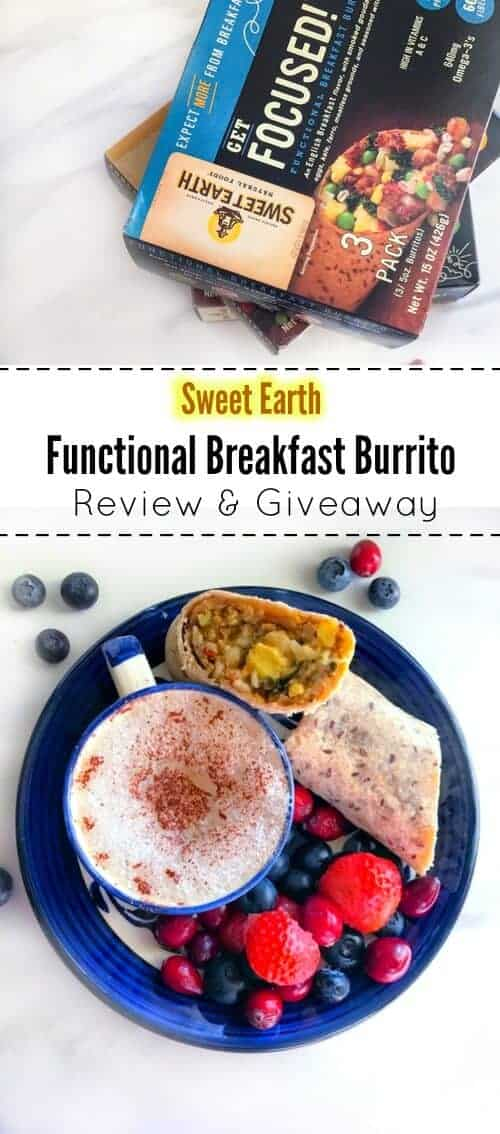 Sweet Earth - Functional Breakfast Burrito (Review & Giveaway) : #SweetEarth @sweetearthfoods #vegan #burrito