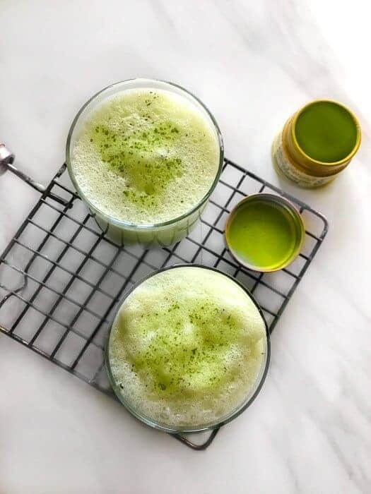 How to make Coconut Matcha Latte