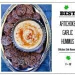 The Best Artichoke Garlic Hummus – Kitchen Sink Hummus