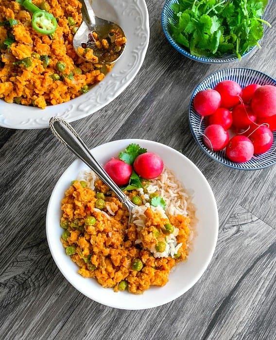 ground turkey curry recipe