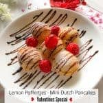 Lemon Poffertjes – Mini Dutch Pancakes (Valentines Special)