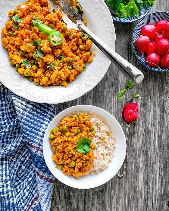 Turkey Curry Rice Bowl