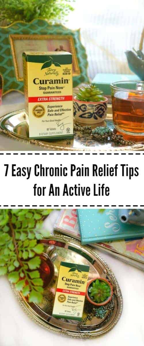 7 Easy Chronic Pain Relief Tips for An Active Life : #ad #StopPainNow #curamin #sofab