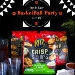 Fun and Easy Basketball Party Ideas  ( #SnackBracket )