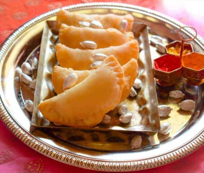 Gujiya recipe also known as sweet indian empanadas