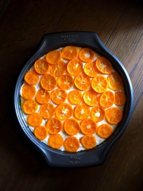 Kumquat Cake Recipe using kumquats and ginger