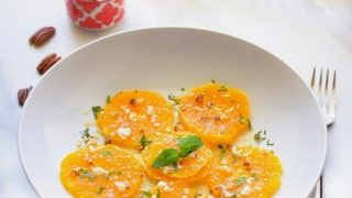 3 Minutes Mediterranean Orange Salad (Glutenfree)