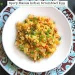 Masala Indian Scrambled Egg