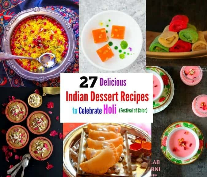 popular and quick indian desserts for holi