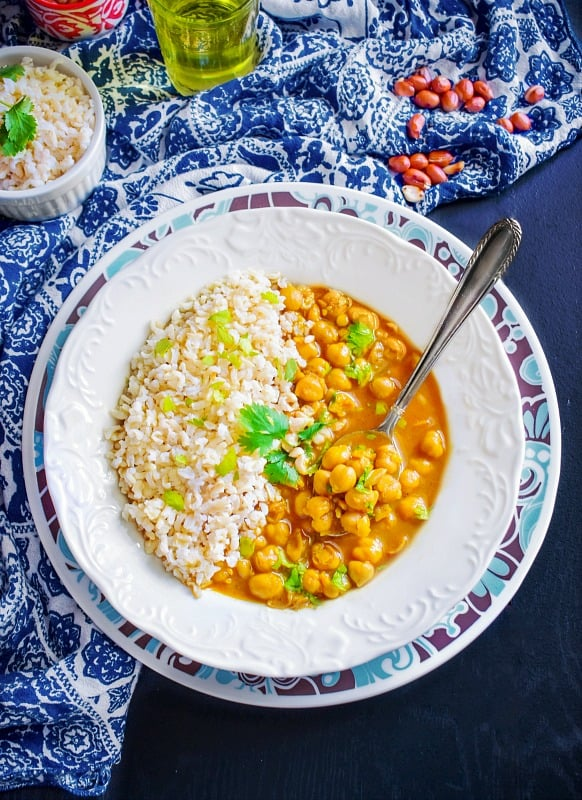 Healthy Moroccan Chickpea