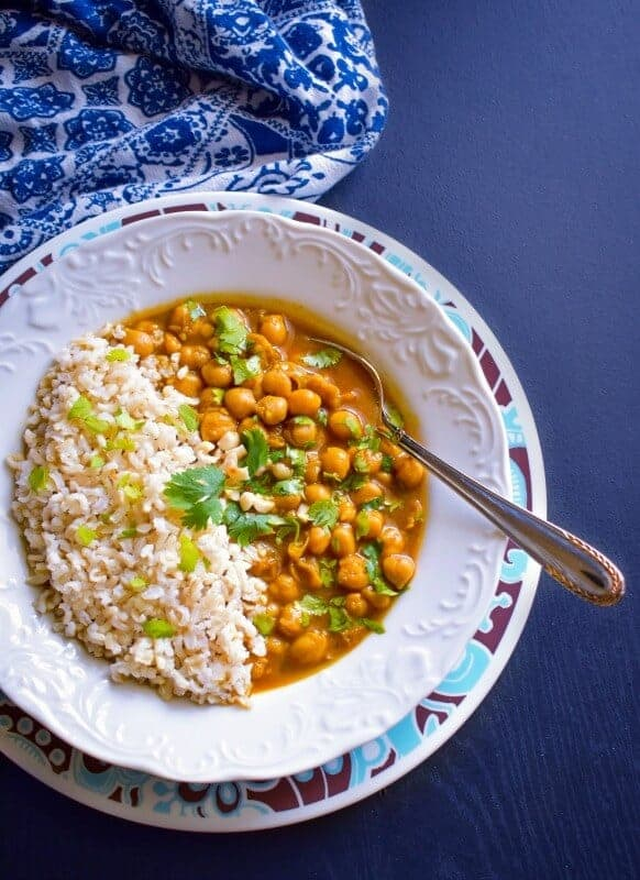 indian-chole-curry-recipe #chole
