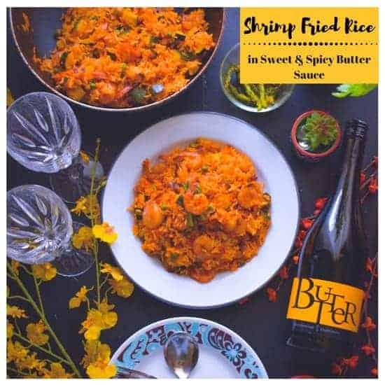Restaurant Style Shrimp Fried Rice (Sweet-Spicy) #friedrice