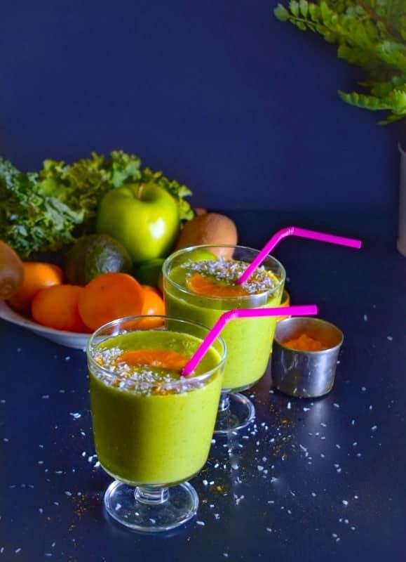 kiwi-orange-smoothie-vegan