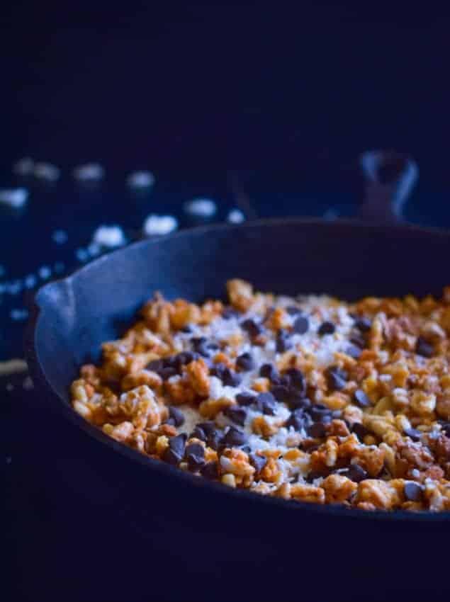 stovetop-chocolate-chip-coconut-granola-recipe