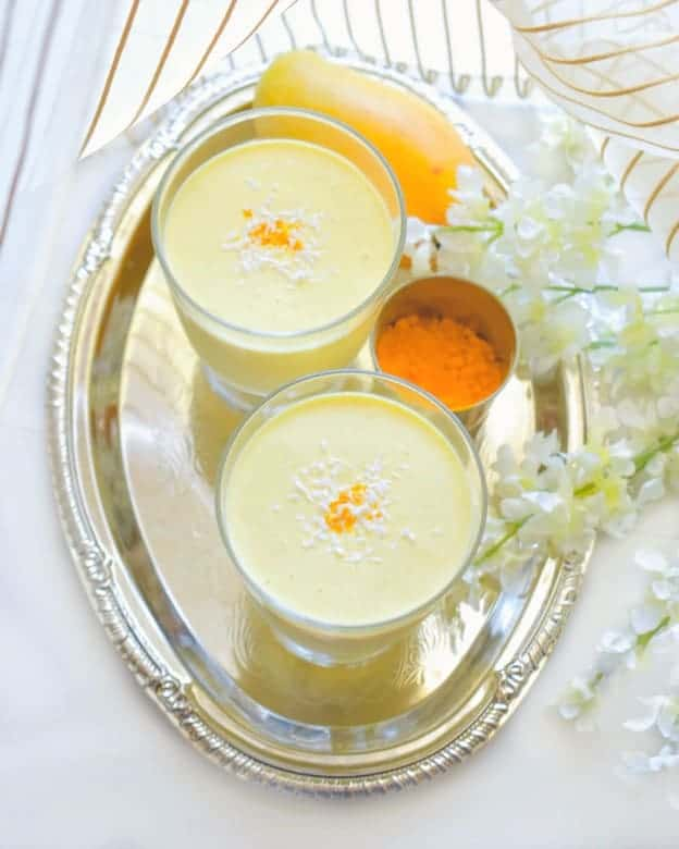 Tropical Mango Coconut Smoothie