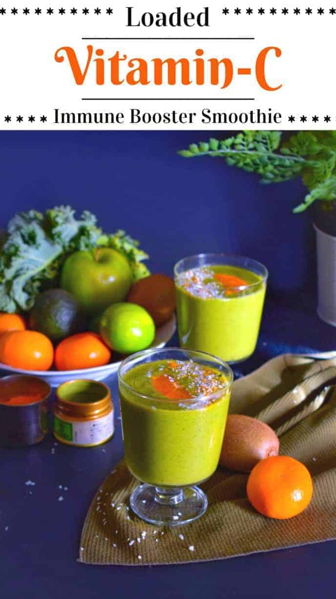 Loaded Vitamin C Immunity Boosting smoothie Recipe