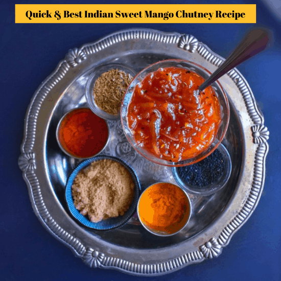 Indian Mango Chutney recipe