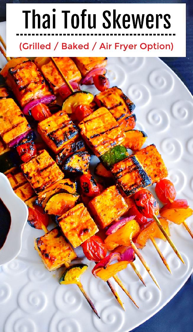 Thai Tofu Skewers