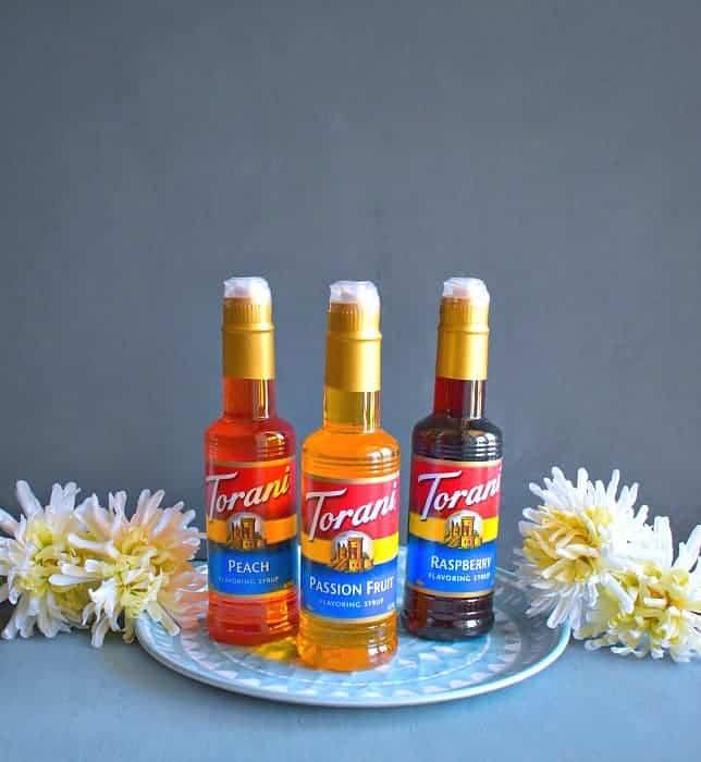 Torani syrups passionfruit