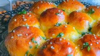 Stuffed Samosa Curry Buns (Perfect Party Snack)