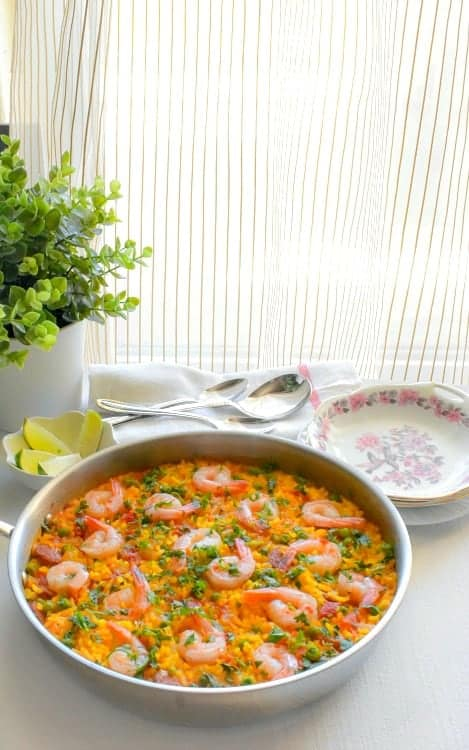 easy spanish paella recipe