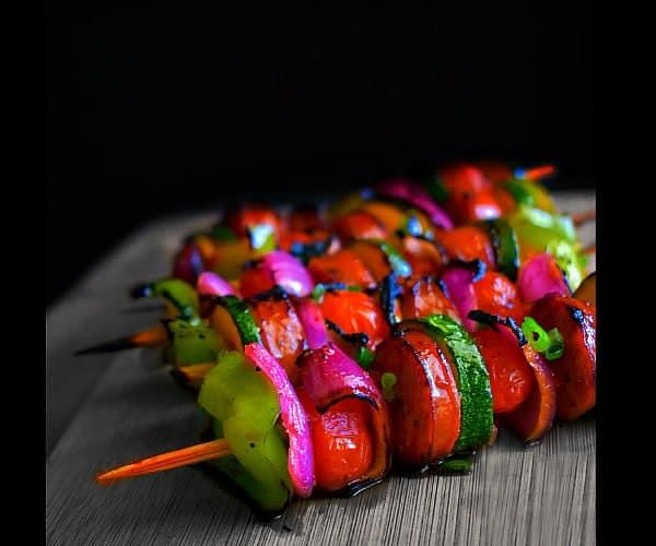Easy Sausage Kebab