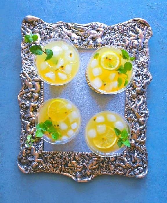 passionfruit mint sangria recipe
