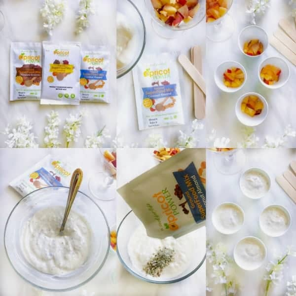 peach-ice-cream-process