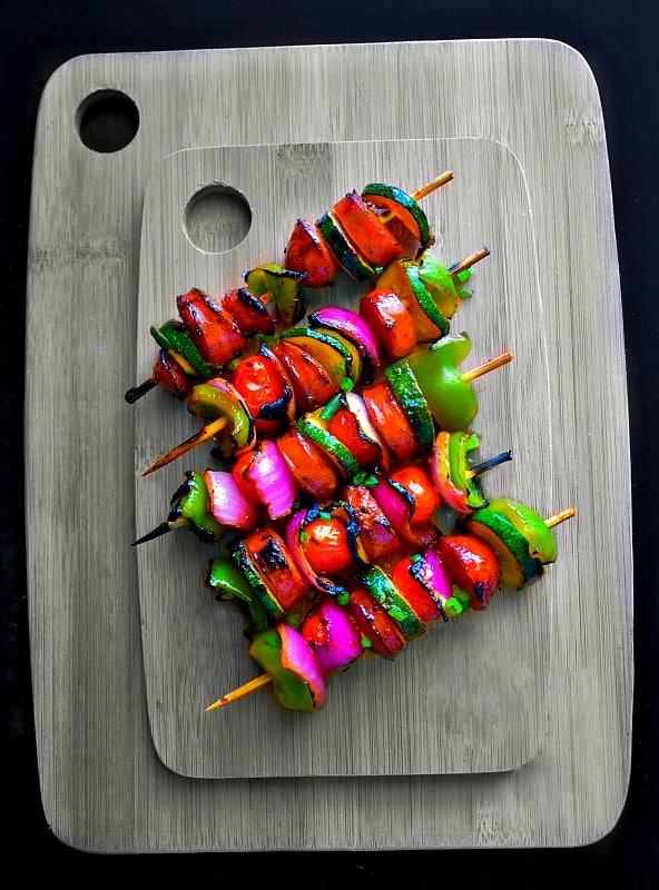 Firecracker Sausage Kebab