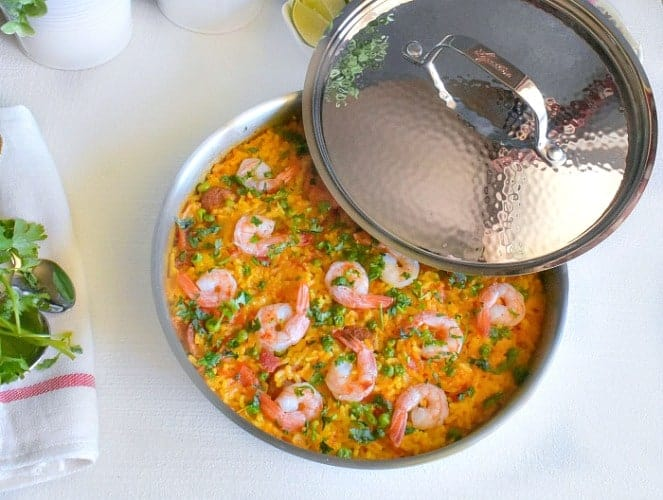 spanish shrimp paella recipe