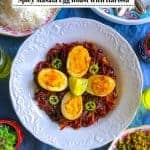 Spicy Masala Egg Roast with Harissa – #harissa