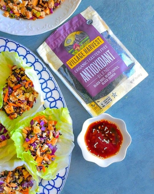 Best Tofu Lettuce Wraps recipe