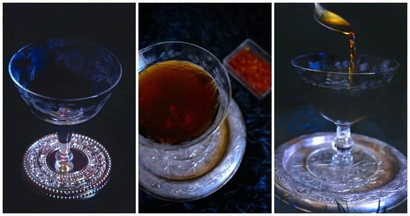 Bourbon Saffron Tea