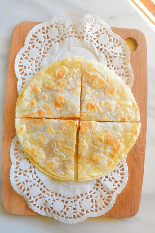 chicken tikka quesadilla recipe