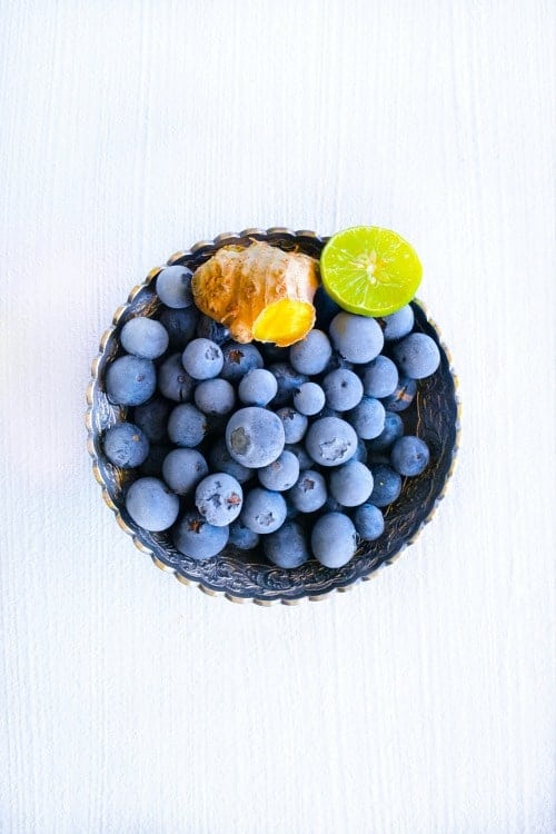 Blueberry for the Blueberry Masala Soda
