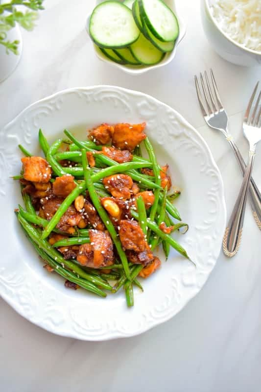 Quick Thai String Bean Chicken Recipe
