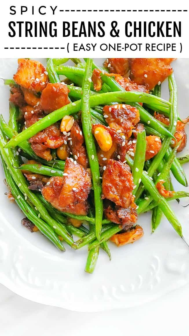Spicy String Beans Chicken