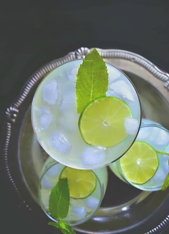 cardamom mint lemonade recipe