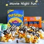 Easy to Make Movie Night Popcorn Bars
