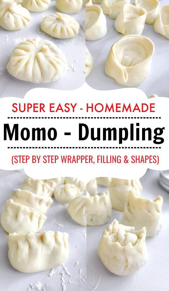 How to Make Momo - Dumplings - Pierogi - Gyozo #momo #dumpling #gyozo