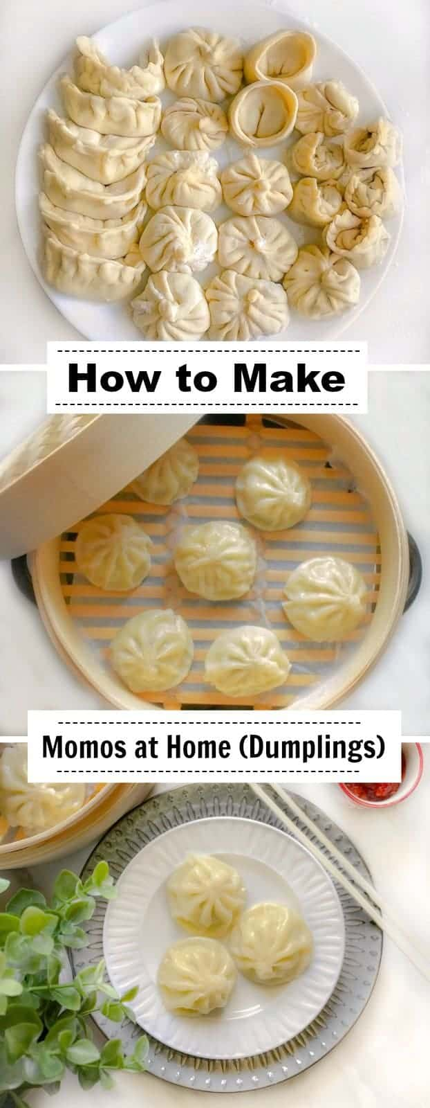 How to Make Momos at Home: #momos #dumplings #chinese