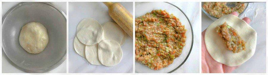 how to make momos / dumplings / gyozo / pierogi at home