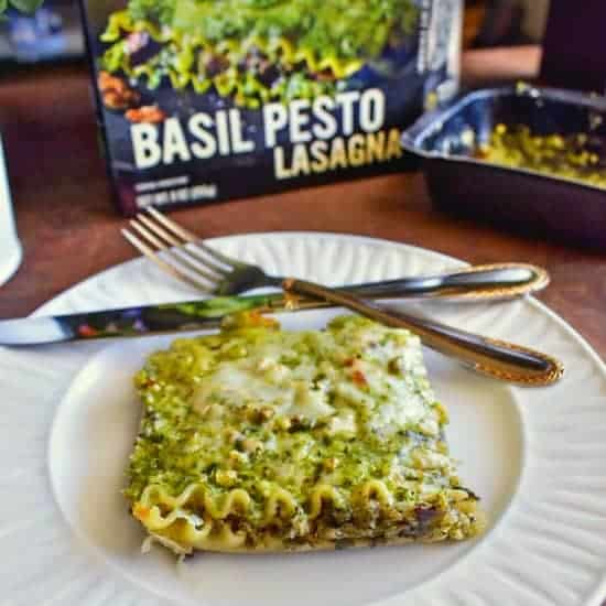 Sweet Earth Review-Basil Pesto Lasagna