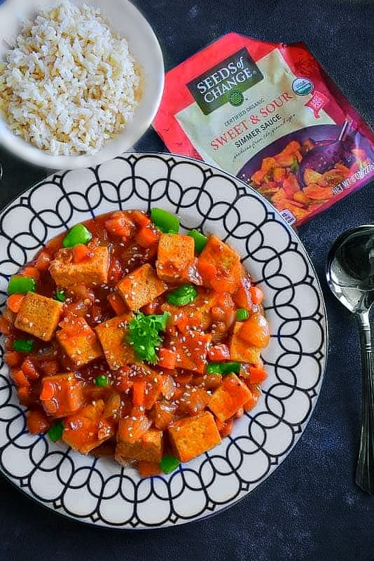 Quick Sweet and Sour Tofu Recipe