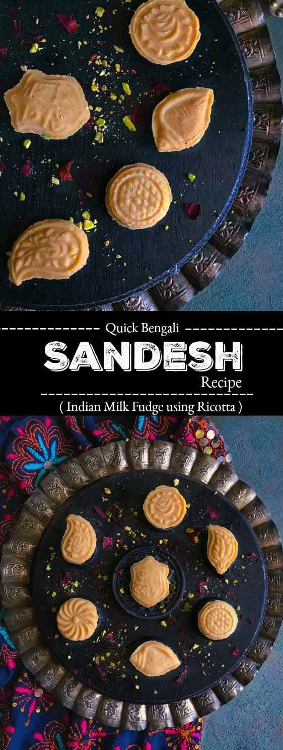 Bengali Sandesh Recipe: #sandesh #bengali #dessert #indian