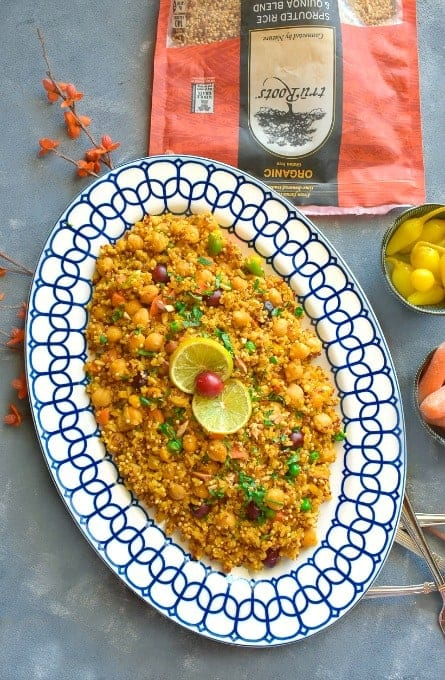 spicy-indian-chickpea-quinoa-pulao-recipe